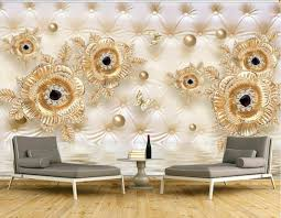 kitchen wallpapers background 38 3d relief gold golden mosaic jewellery background wall 3d