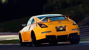 orange nissan 350z yellow car nissan 350z