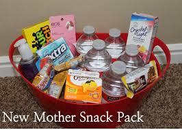 Best Friend Gift Basket Diy Baby Shower Gift New Mother Snack Pack