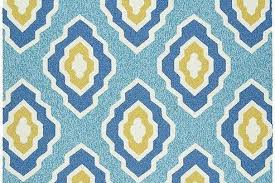 Yellow Outdoor Rug Blue And Yellow Rugs Quatrefoil Outdoor Rug Regarding 2