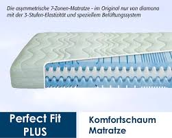 kindermatratze 90x200 diamona perfect fit plus 90 x 200 cm preisvergleich matratze