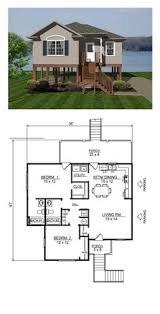 Floor Plan For 2 Bedroom House Awesome Small Floor Plan Practically Two Suites And Separated By