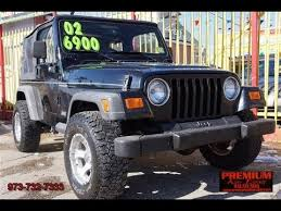 jeep wrangler maintenance schedule 2002 jeep wrangler se 5 speed convertible