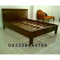 Dipan Kayu Kalimantan jual jepara tempat tidur dipan kayu murah dan terlengkap