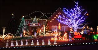 front yard christmas decorations with outdoor christmas lighting