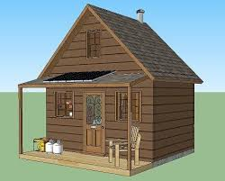 dennis ringler 12x16 grid house simple solar homesteading 280 sq ft solar powered grid cabin with covered front porch