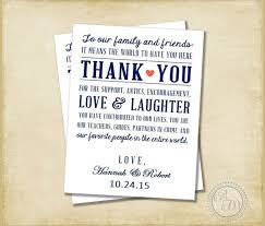 thank you card for wedding gift 11 sle wedding thank you notes psd vector eps pdf