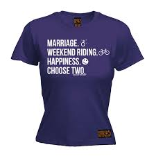 week end anniversaire de mariage marriage weekend happiness womens t shirt cycling