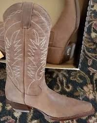 womens brown cowboy boots size 11 womens boterine botas brown leather cowboy boots