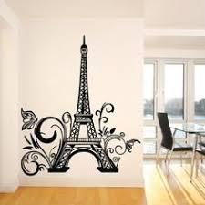 Eiffel Tower Room Decor Eiffel Tower Paris Vinyl Wall Decals Stickers Art Aparis