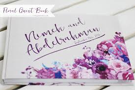 a floral wedding guest book time2partay com