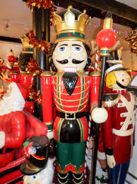 Life Size Nutcracker Outdoor Christmas Decorations Uk by Nutcracker King With Sceptre 6 5ft Jr 0057 The Jolly Roger