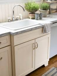 Cheap Kitchen Sink by A Farm Sink Can Be Upmounted So The Rim Is Not Covered By The