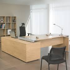 bureau professionnel bureau professionnel angle droit avec console de rangement 200x200