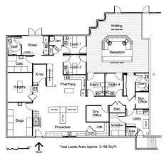 Pharmacy Floor Plans by Veterinary Floor Plan Southwest Veterinary Hospital Mi Lugar