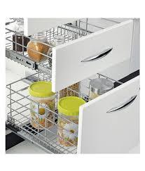 zansaar exclusives stainless steel kitchen cabinet accessory