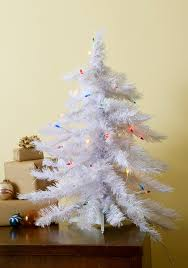 small white christmas tree home decorating interior design