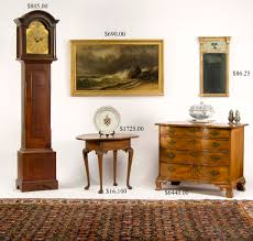 Queen Anne Secretary Desk by Hap Moore Antiques Auctions June 27 2009