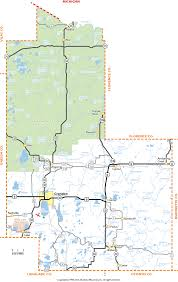 Maps Of Wisconsin by Forest County Wisconsin Map