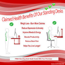 standing desk hub quality affordable stand up desks for health