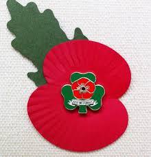 lest we forget poppy united irish ex services association