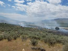 Wildfire Credit Union by Wildfire On 332 Acres Near Utah Idaho Border 40 Contained