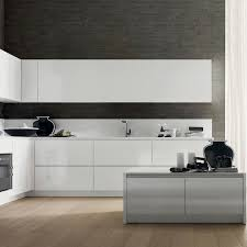 Kitchen Laminate Design by Contemporary Kitchen Laminate Lacquered High Gloss Creta