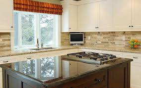 white subway tile kitchen backsplash white cabinet and beadboard