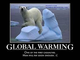 Polar Bear Meme - nsaney z posters ii global warming polar bear on melting iceberg