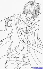 coloring pages anime boy coloring pages mycoloring free