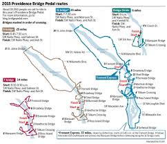Portland Streetcar Map by How To Navigate The 2015 Providence Bridge Pedal Closures