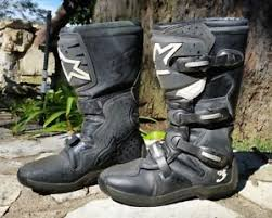 womens moto boots size 12 used motocross boots ebay