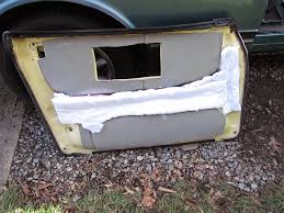Sound Dening Interior Doors Crawls Backward When Alarmed Door Sound Deadening On The Saab 900