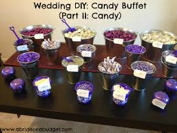 Apothecary Jars For Candy Buffet by Wedding Diy Candy Buffet Part I Buckets A Bride On A Budget