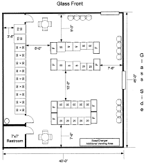 Laundromat Floor Plan Spec