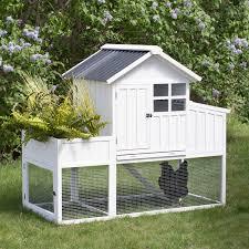 boomer u0026 george willow garden bed chicken coop hayneedle