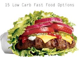 fast food options for low carb diets recipes low carb