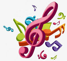 imagenes de notas musicales a color cartoon color notas cartoon colorido notas musicales imagen png