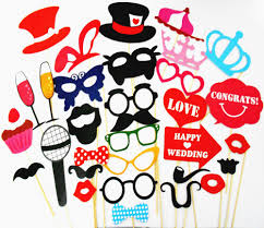 buy diy black mr mrs paper board ribbon sign photo booth props