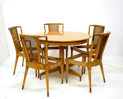 mid century dining set by jl metz at 1stdibs mid century dining set by jl metz 2
