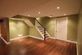 wall paint ideas for basement