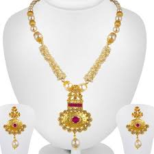 necklace photos images Long gold necklace buy long gold necklace online at best prices jpeg