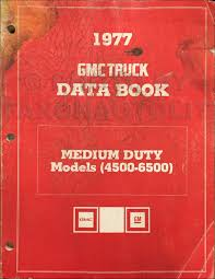 1977 gmc 4500 6500 truck repair shop manual original