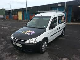 vauxhall combo vehicles red parrot signs company manchester