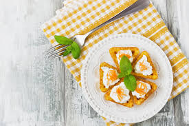 canape cottage canape with cottage cheese stock image image of food 49155643