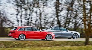 audi rs6 vs audi rs6 avant vs bmw m5 2013 car review by car magazine