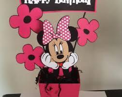 minnie mouse happy birthday centerpieces momentzandmemories