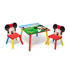 disney mickey mouse table and chair set home chair decoration