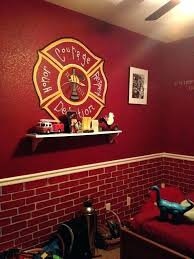 firefighter home decorations firefighter themed bedroom fire truck bedroom decorations stunning