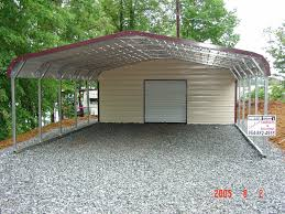 Garage With Carport Steel Buildings Gainesville Fl Portable Carports U0026 Aluminum Garages